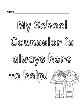 School Counselor Materials/Appreciation by Cheerful