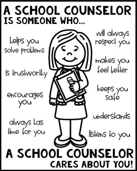 School Counselor Coloring Coloring Pages