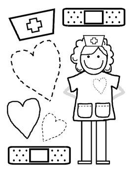 School Nurse Appreciation, Activities and Kit by