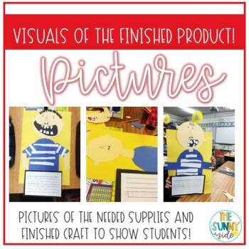 School Rules: No David! Writing activity & Craft by The