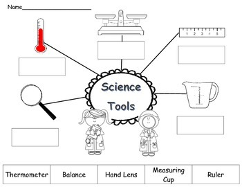 Tools Scientists Use Worksheet Pictures to Pin on