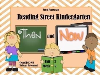 Scott Foresman Reading Street Kindergarten Unit 3 Week 5
