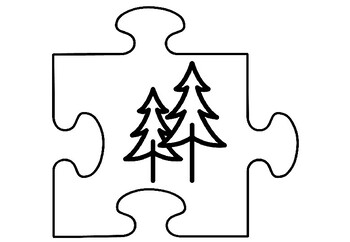 Scouts Art Activity, Art Jigsaw Puzzles Scouts Coloring