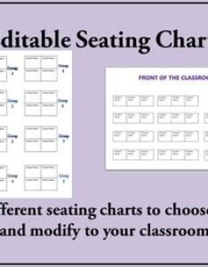 Seating chart versions completely editable also tpt rh teacherspayteachers