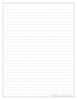 Second Grade Benchmark Advance Writing Paper for