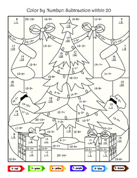 Second Grade Christmas Math Activities by Rumack Resources