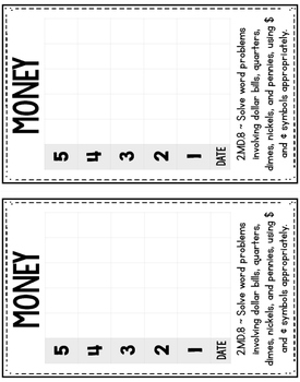 Second Grade Common Core Math Assessment ~ Standard 2.MD.8