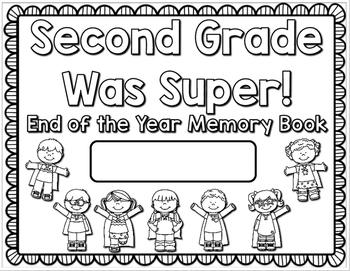 Second Grade End of the Year Memory Book/Portfolio by Read