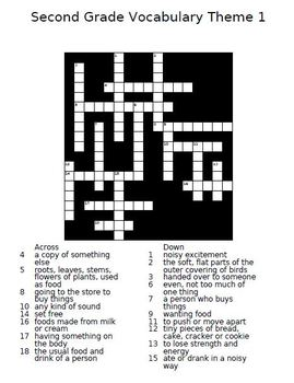 Houghton Mifflin Reading 2nd Grade Crossword Puzzles Full