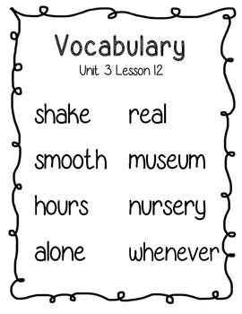 Journeys Second Grade Vocabulary Posters by Jenna Howansky