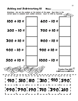 Spring Math Worksheets Second Grade Math Worksheets by