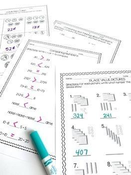 Midyear 2nd Grade Math Review! 2nd Grade Math Warm up! 2nd