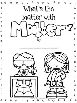 Second Grade Science-Common Core Aligned Matter Unit by