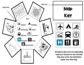 Second Grade Social Studies Interactive Notebook Unit 1