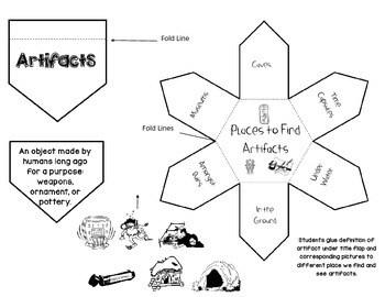 Second Grade Social Studies Interactive Notebook Unit 2