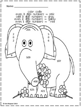 Second Grade Valentine Common Core Math Skill Coloring