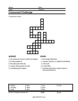 Second Grade Vocabulary Worksheets, Full Year, 920 Pages By Stemtopics
