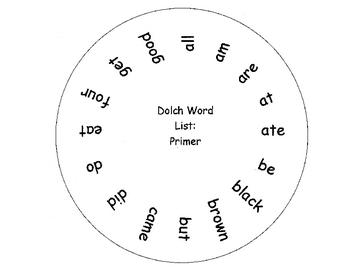 Secret Code Word Wheel-Quick & Easy Sight Word Practice