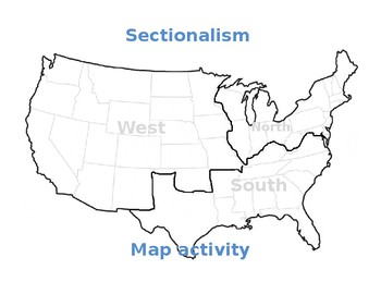 Sectionalism Worksheet. quotes about sectionalism slavery