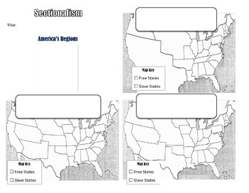 Sectionalism and Compromises PowerPoint & Graphic
