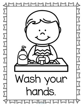 My Hands Theme Literacy and Math Centers, Printables and