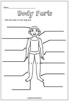 Self-Awareness Foundation Health by Cubbyhouse Worksheets