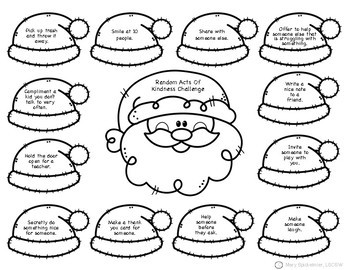 Self Esteem: Christmas Worksheets & Activities by Positive