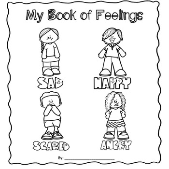 Self Regulation Feelings Booklet & Game (modified for SpEd