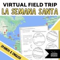 Semana Santa Digital Activities Click to Download! Google Maps in Spanish Class