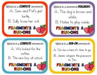 Fragments and Run-ons by Rock Paper Scissors   Teachers ...