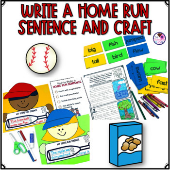 Sentence Writing From Start to Finish Home Run Sentence