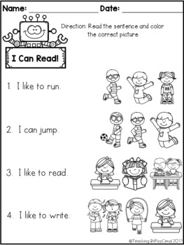 September Reading Comprehension Check by Teaching
