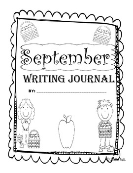 September Second Grade Writing Prompt and Jounral Pages