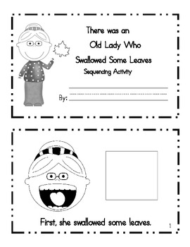 Sequencing Activity: There Was an Old Lady who Swallowed