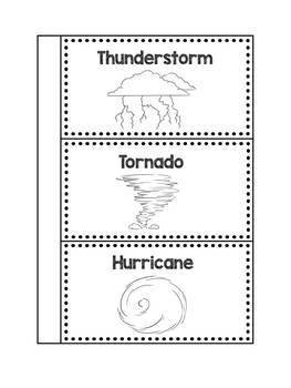 Severe Weather Interactive Notebook Activity: Thunderstorm