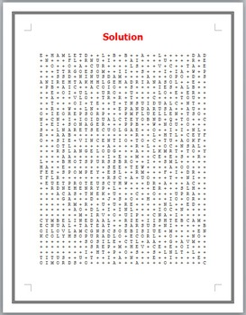 Shakespeare's 100 Characters Word Search Puzzle by The Lit