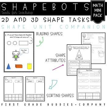 Shape Tasks with Shapebots: Geometric Shape Activities