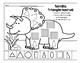 Shape-a-saurus 2D Shapes Fun Sheets (Dinosaur Theme) by