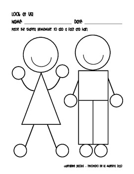 Shapes Freebie! Printable activities for multiple