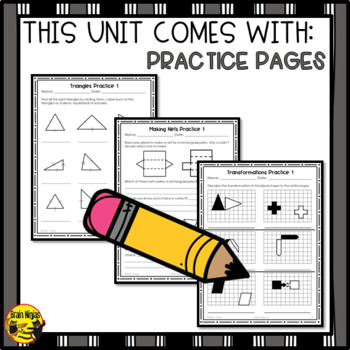 Shapes Objects and Transformations Interactive Notebook