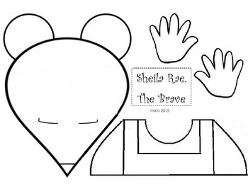Sheila Rae the Brave Literacy Activity and Craft