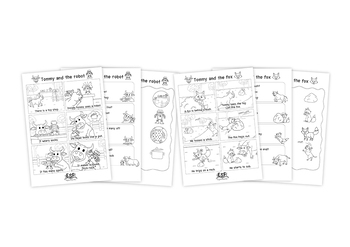 Short O Phonics Reading Comprehension Passages and
