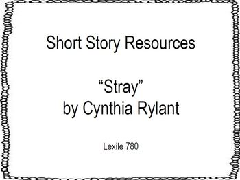 Short Story Resources: