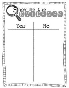 also show me the evidence sort  chart for close reading tpt rh teacherspayteachers