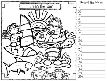 Sight Word Hide and Seek {Fry's Lists 100, 200, 300
