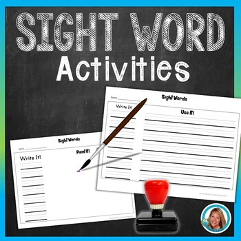 Sight Word Practice Printables