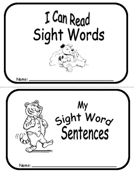 Sight Word Sentence Frames Units 8-10 by Carolea Williams