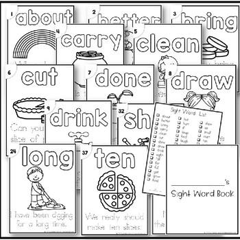 Sight Word Sentence Readers-Dolch 3rd Grade B/W by Kadeen