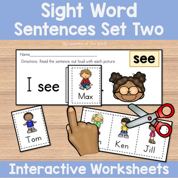 sight word sentences guided