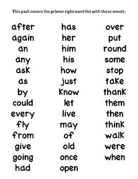 Sight Word Games & Stations {First Grade~Bundled} by